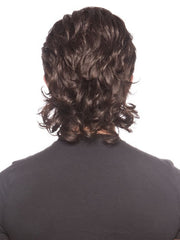 Extended nape for slight modern mullet look