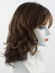6/27TT  | Dark Brown and Light Red-Gold Blonde Blend with Brown Nape