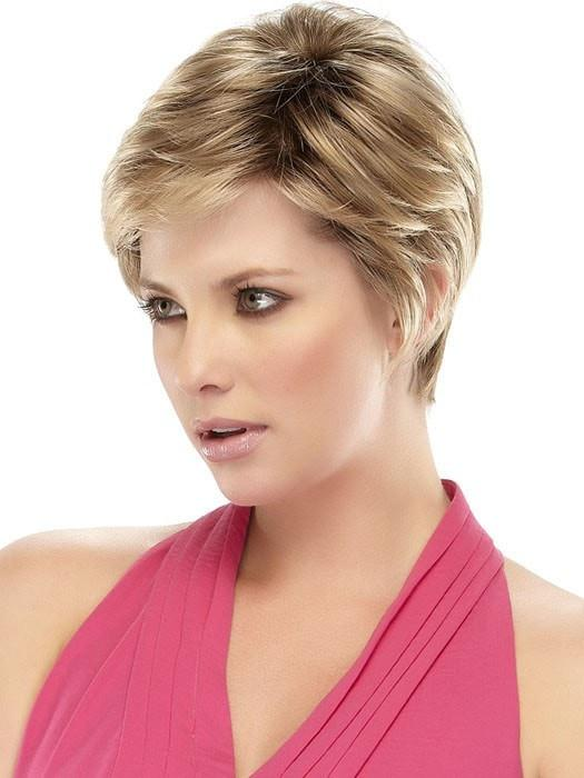 Short and classy, with a monofilament top and lace front