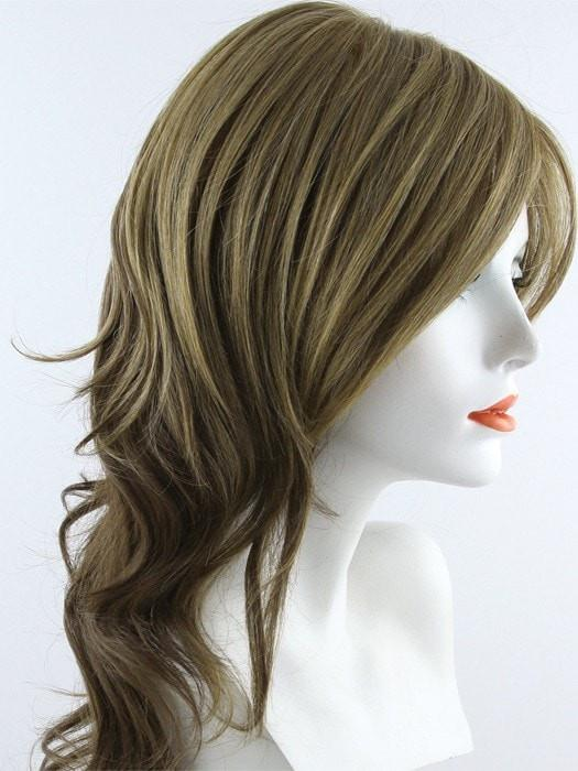 10/26TT FORTUNE COOKIE  | Medium Natural Gold Brown and Light Red-Gold Blonde Blend with Medium Natural Gold Brown Nape
