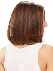 This classic chin length bob can be worn as it comes or styled with heat