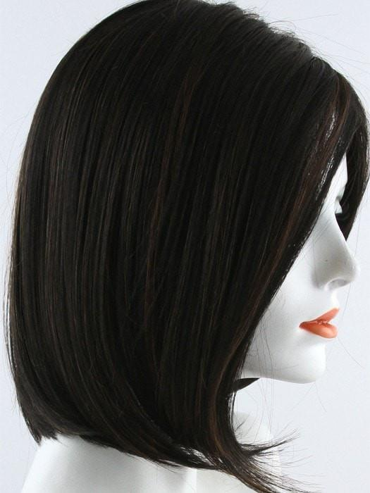 1BRH30  | Soft Black with 33% Medium Natural Red Highlights