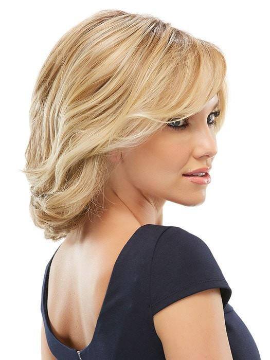 The longer bang can be cut or left longer for a sultry look that frames the face | Color: 12FS8