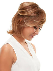 Pull Sides back with a Bobbi Pin or Clip | Color: FS26/31S6- Salted Caramel