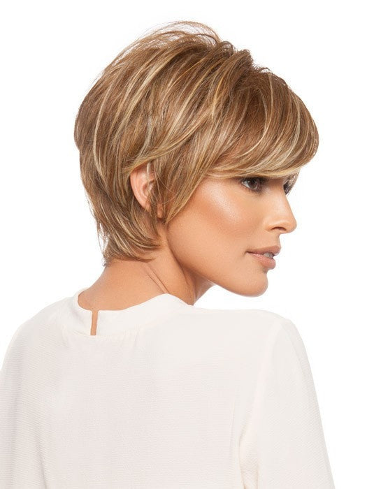 The layered neckline is feminine and provides coverage | Color: FS26/31