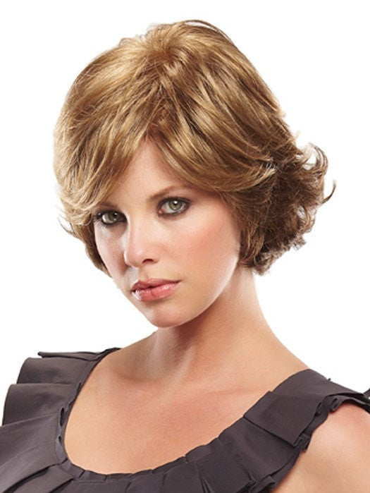 The side bang can be trimmed to fit your face shape | Color: 10/26TT