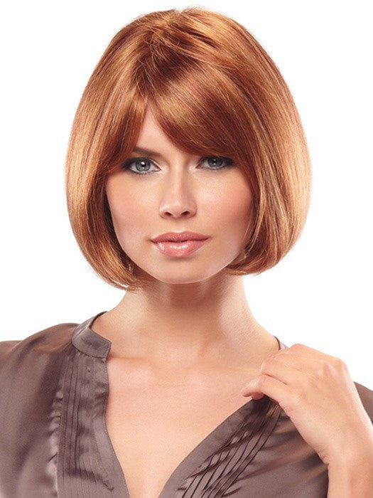 Patrice by Jon Renau: Color 33RH27 Berry Good (Dk Red w/ 33% Strawberry Blonde Highlights)