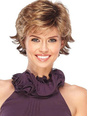 JAZZ PETITE by Jon Renau in 10/26TT FORTUNE COOKIE | Light Brown and Medium Red-Gold Blonde Blend with Light Brown Nape