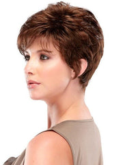 This short pixie that has loads of layers for lots of styling options.