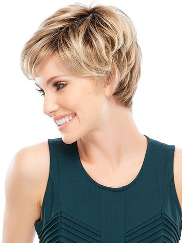 Allure Mono top Wig by Jon Renau | short wig hair styles
