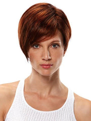 Natalie by Jon Renau: Color 131T4 Brandy (Plum Red & Dk Brown Blend w/ Plum Red Tips)