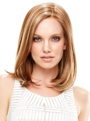 ELLE by Jon Renau in FS26/31 | Medium Red-Gold Brown and Light Gold Blonde Blend with LT Gold Blonde Bold Highlights