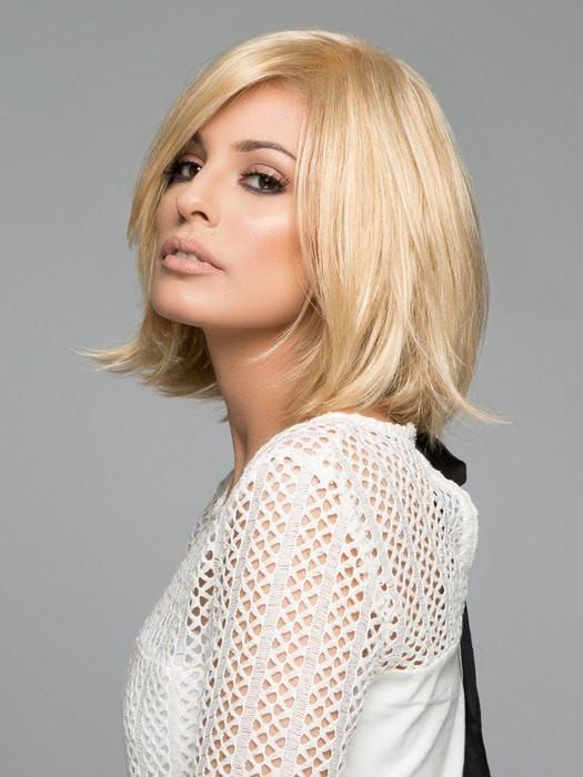 This chic, face framing bob wig scores high in style and comfort