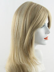 104F24B | Pale Natural White Blonde and Light Natural Gold Blonde Blend with Light Natural Gold Blonde Nape