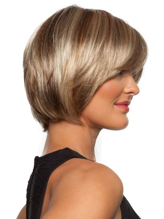 Color 12FS8 Shaded Praline (Golden Brown/Warm Platinum Blonde/Platinum Blonde Blend, Shaded w/ Med Brown)