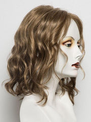10/26TT | Light Brown and Mediumium Red-Gold Blonde Blend with Light Brown Nape