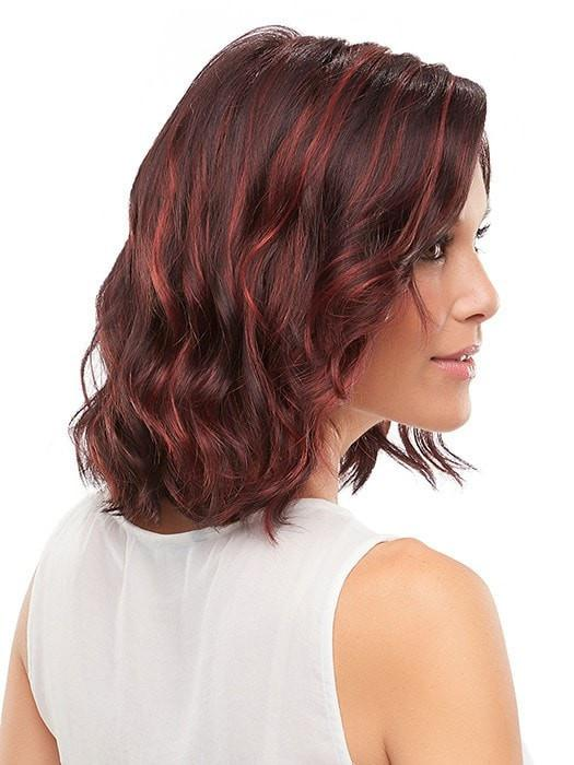 SCARLETT By Jon Renau in FS2V/31V CHOCOLATE CHERRY | Black/Brown Violet, Medium Red/Violet Blend with Red/Violet Bold Highlights