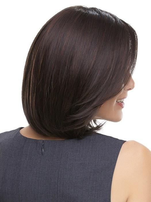 Smooth and sleek synthetic hair