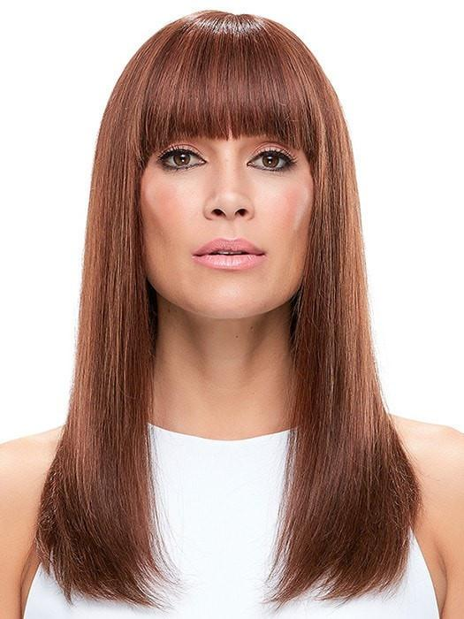 This style is a natural knockout! | Color: 6/33 Brown & Medium Red Blend