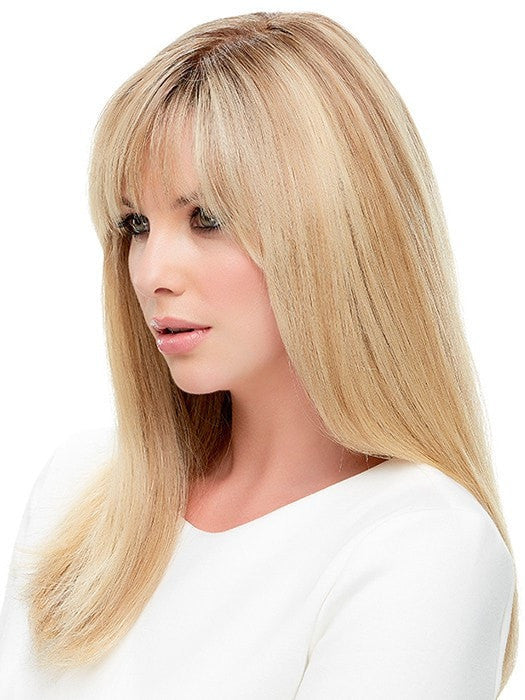 The full monofilament top gives a scalp-like appearance