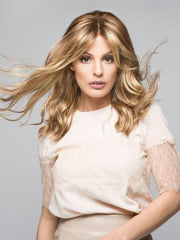RACHEL by Jon Renau in 14/26S10 |  Light Gold Blonde and Medium Red-Gold Blonde Blend, Shaded with Light Brown
