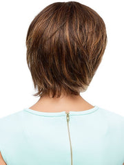 Tapered neckline | Color: 6F27 Brown with Light Red-Golden Blonde and Red Golden Blend