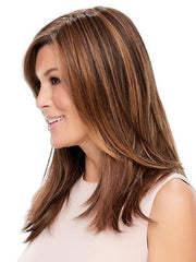 Adds extra volume to your own hair with this top piece by Jon Renau