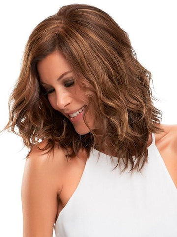 Synthetic Hair Fiber- Ready-to-wear, pre-styled and designed to look and feel like natural hair | Color: 6F27