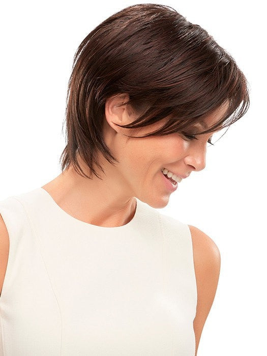 Synthetic Hair Fiber: Ready-to-wear, pre-styled and designed to look and feel like natural hair