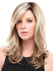 MIRANDA by Jon Renau in 12FS8 SHADED PRALINE | Light Gold Brown, Light Natural Gold Blonde and Pale Natural Gold-Blonde Blend, Shaded with Medium Brown