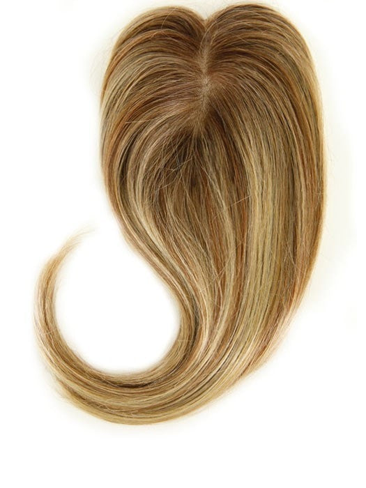 "EASIPART HUMAN HAIR 12"" TOPPER Top View 