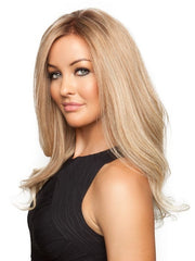 BLAKE EXCLUSIVE by Jon Renau in 27T613S8 | Medium Natural Red-Gold Blonde and Pale Natural Gold Blonde Blend and Tipped, Shaded with Medium Brown