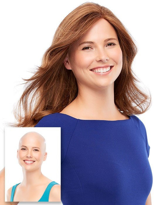 Designed for women with complete hair loss