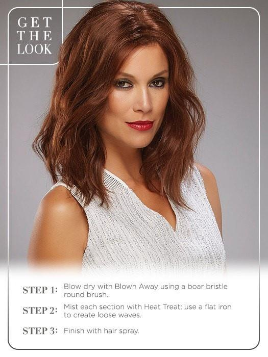 Get the look! | 6/33 RASPBERRY TWIST Dark Brown and Medium Red Blend