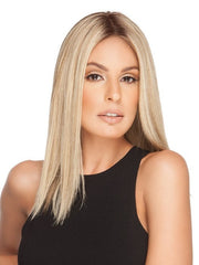 GWYNETH EXCLUSIVE COLORS by Jon Renau in 12FS8 SHADED PRALINE | Light Gold Brown, Light Natural Gold Blonde and Pale Natural Gold-Blonde Blend, Shaded with Medium Brown