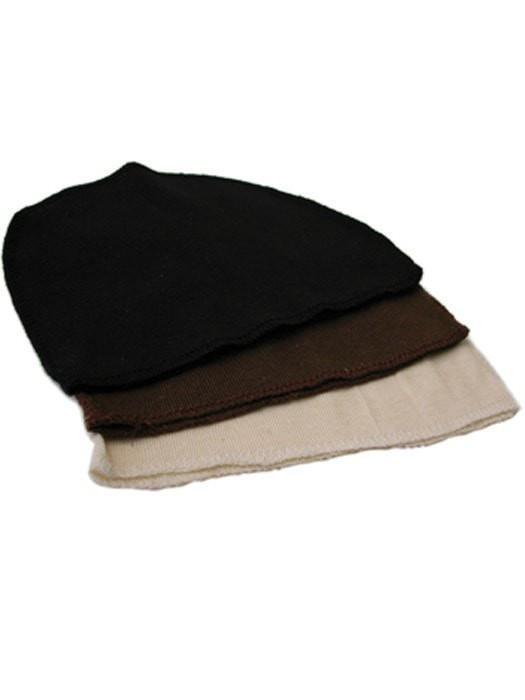 Cotton Wig Liner/Cap by Jon Renau | Colors: Black, Brown, and Cream