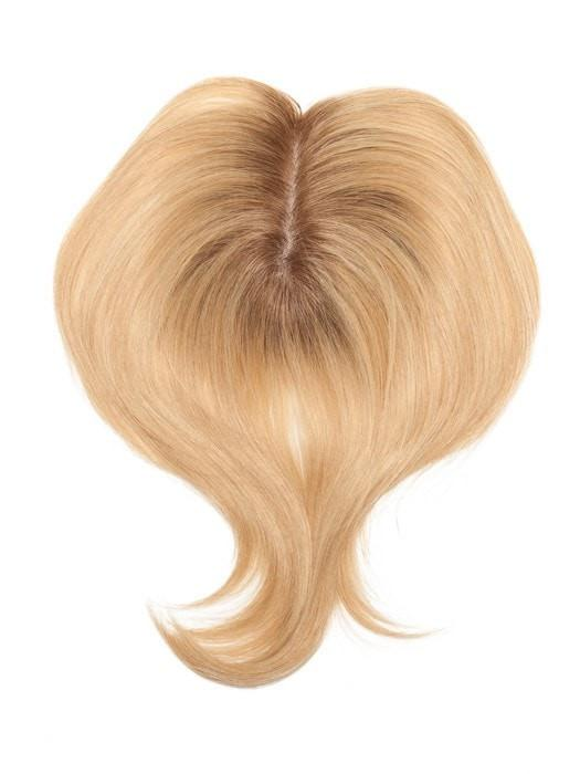 This hair topper, is ideal for concealing thinning hair on the top and along the part