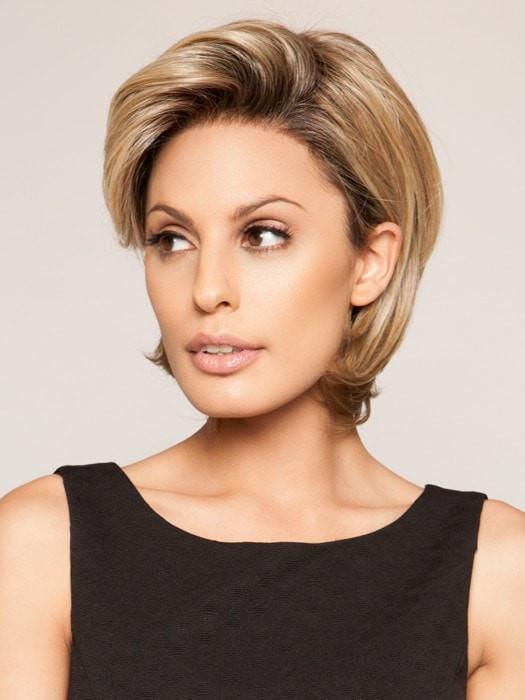 Style the hair back or forward | Color: 12FS8