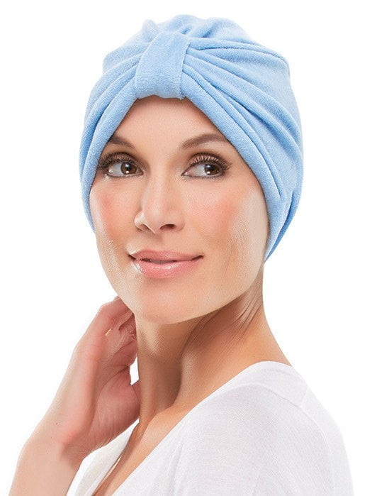 Terry Turban by Jon Renau | Color: Light Blue