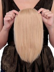 100% Human Hair can be cut and styled to blend in with any hairstyle