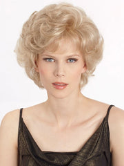 BETTY by Louis Ferre in 140/22 GOLD BLONDE | Light Blonde Blended with Light Red and Blonde Highlight Tones