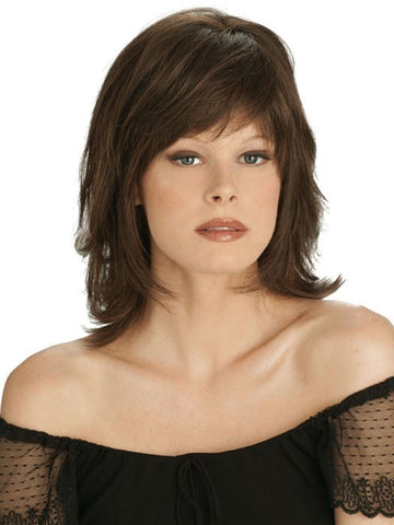 BROADWAY GALA by Louis Ferre in 8/30 TOASTED BROWN | Brown and Medium Red Mix Highlighted