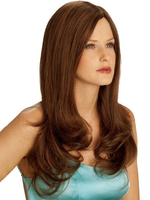 Long Human Hair Wig, 100 Hand-Tied & Double Monofilament Top