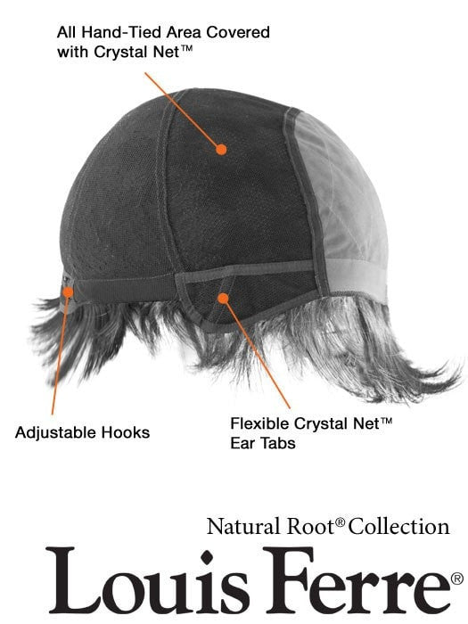 100% Hand-Tied Cap | See Chart for more details