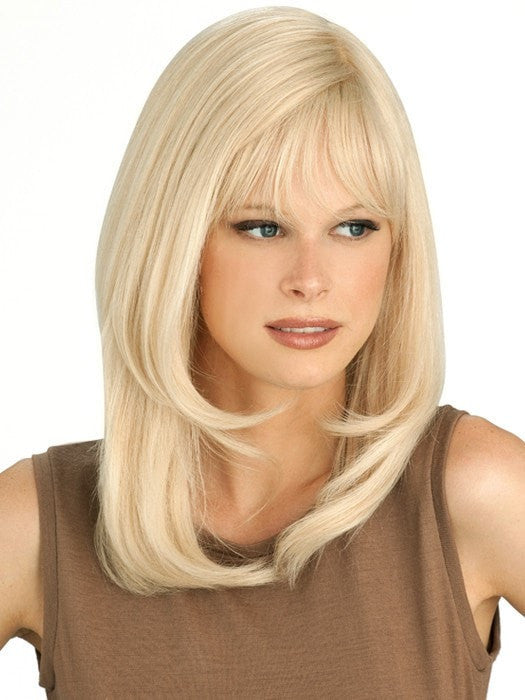 The monofilament feature creates the appearance of a natural scalp and allows for parting versatility
