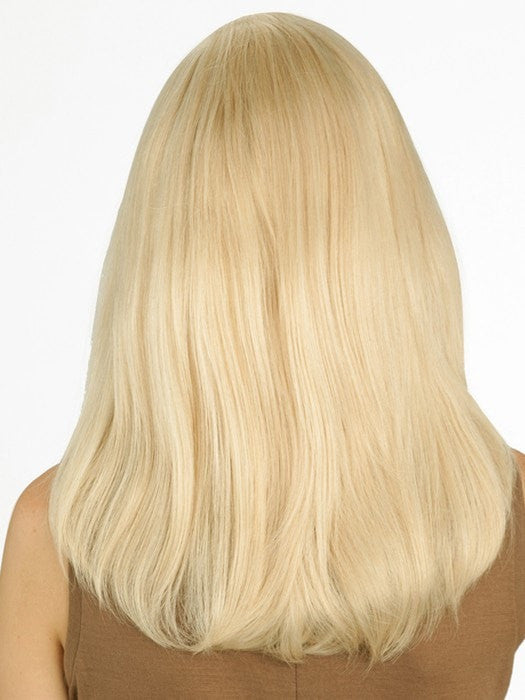 The hand-tied construction allows each hair to swivel freely for natural movement