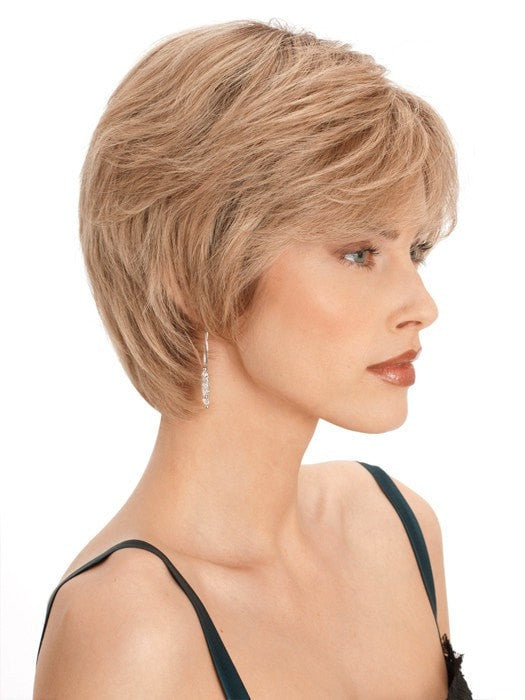 PLF 003HM by Louis Ferre - 100% Human Hair & Lace Front Wig