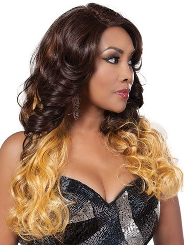 Comes with a deep lace front that needs to be cut and customized | Color: GM236