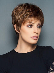 WINNER PETITE by Raquel Welch in SS8/29 SHADED HAZELNUT | Medium Brown With Ginger Highlights Dark Brown with Subtle Warm Highlights