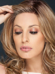 CURVE APPEAL by Raquel Welch in RL14/22SS SHADED WHEAT | Dark Blonde Evenly Blended with Platinum Blonde and Dark Roots